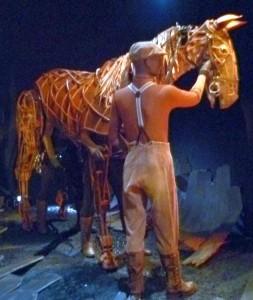 Warhorse puppet