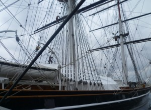 2 Cutty Sark view of
