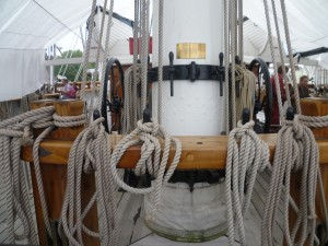 6 Rigging ropes