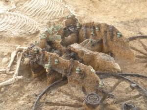 Karanovo chariot detail