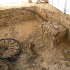 Karanovo mus. dog burial