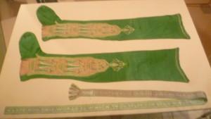 2. Silk stockings mid 18C