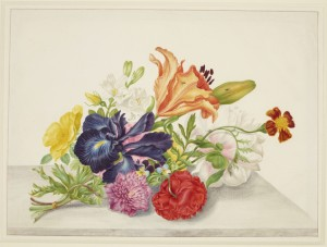 2. Still life with flowers