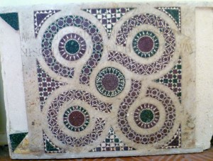Farfa Marble decoration