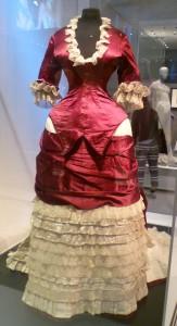 Cuirace dress close up