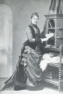 Cuirass day dress 1875-7