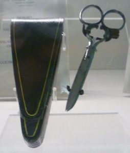 1920s scissors and case