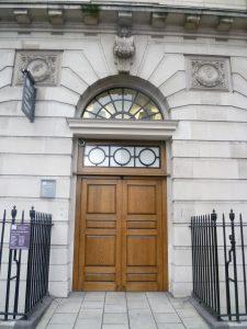 Henrietta St door