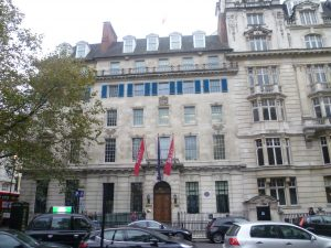 RCN facing Cavendish Sq